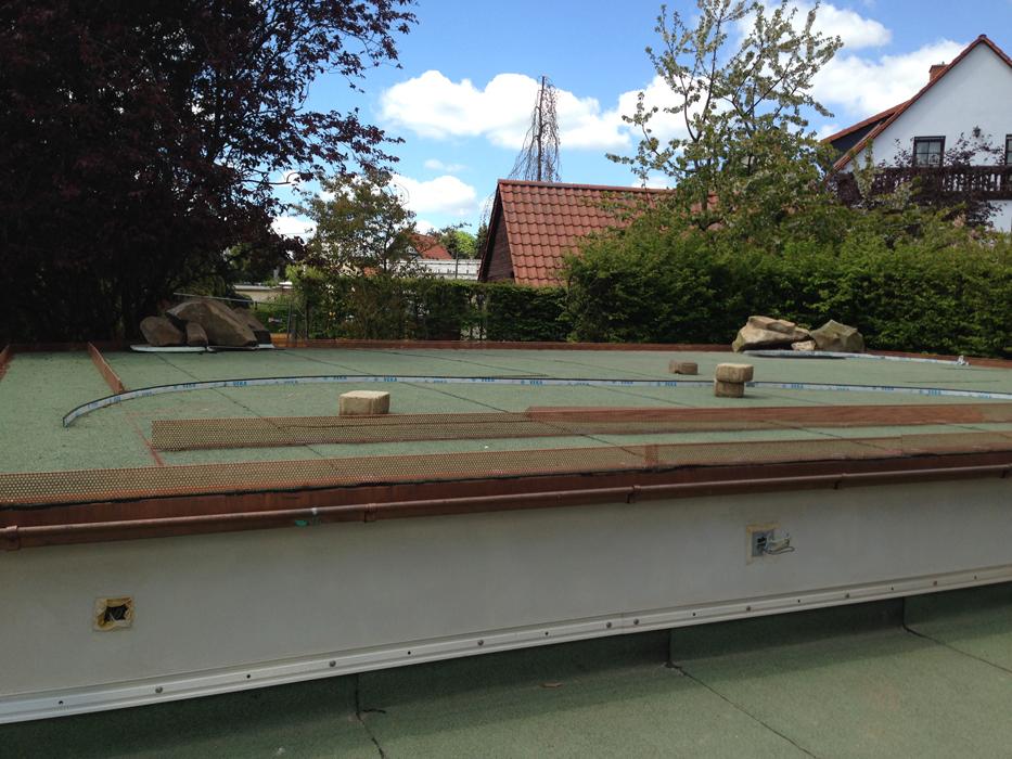Anlegen einer Dachbegrünung