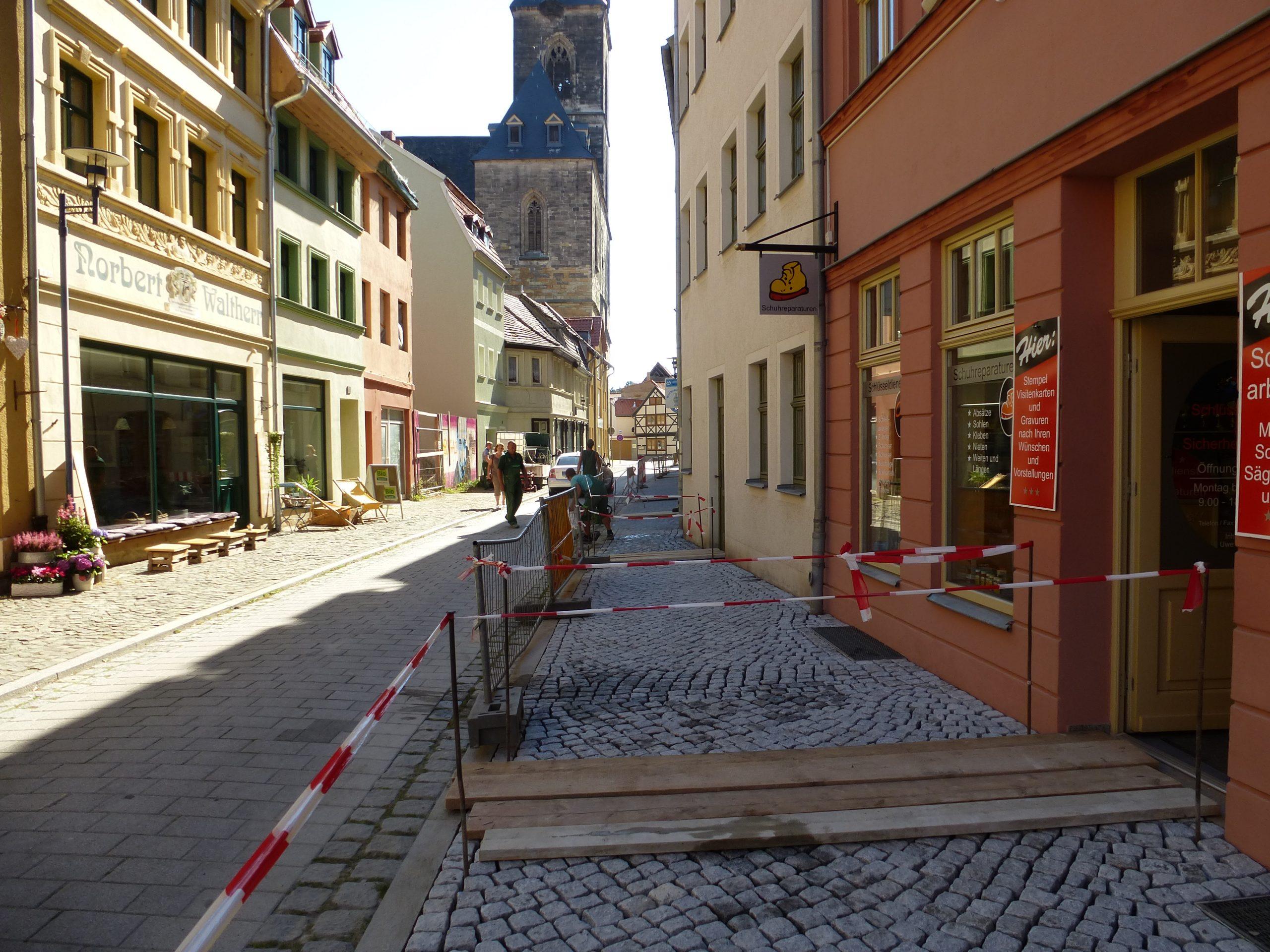 Natursteinpflaster Innenstadtbereich