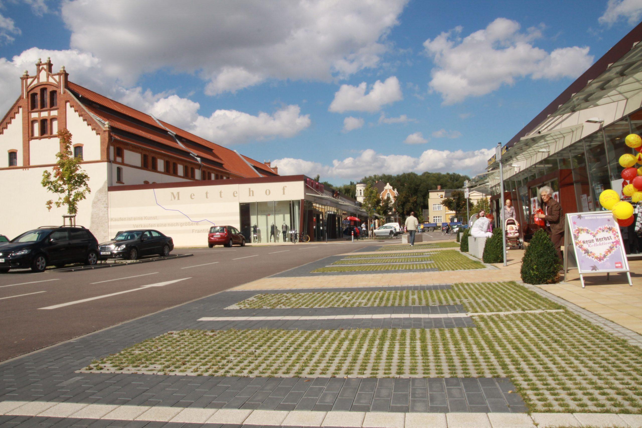 Parkplatzsituation im Innenstadtbereich